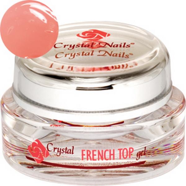 French Top Gel (Barackos rózsaszín) - 15ml