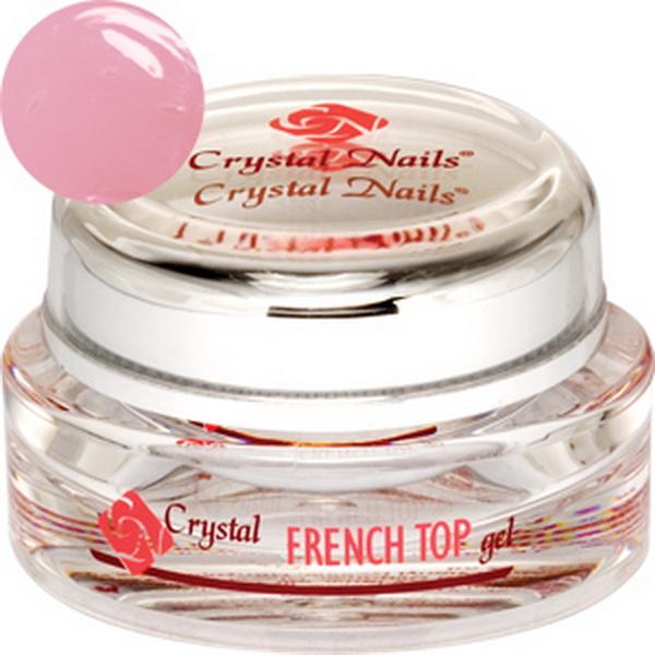 French Top Gel (Pirosas rózsaszín) - 15ml