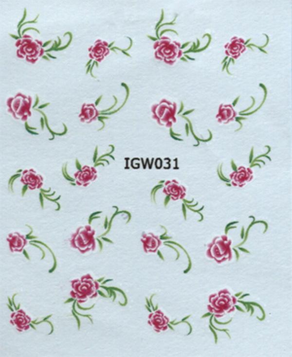 Akril köröm matrica 10 - IGW 031