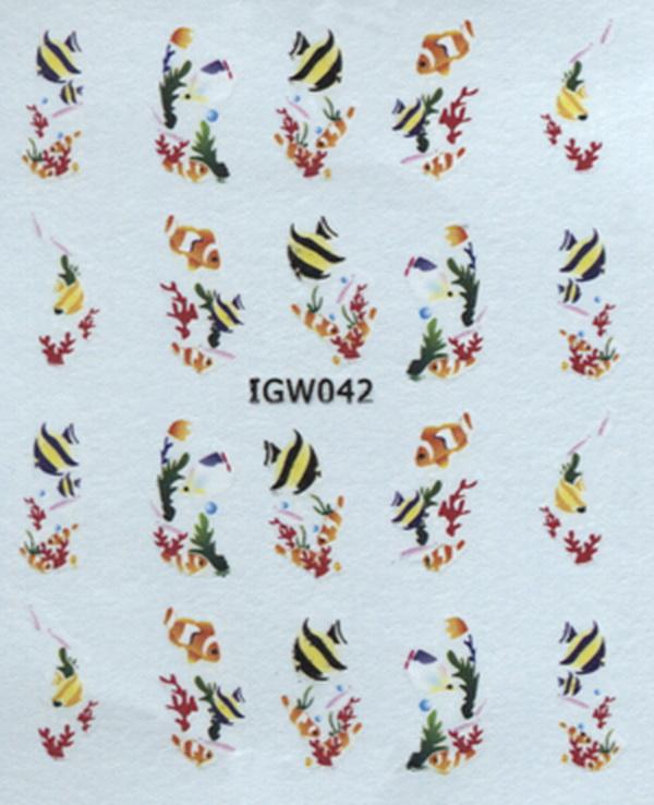 Akril köröm matrica 16 - IGW 042