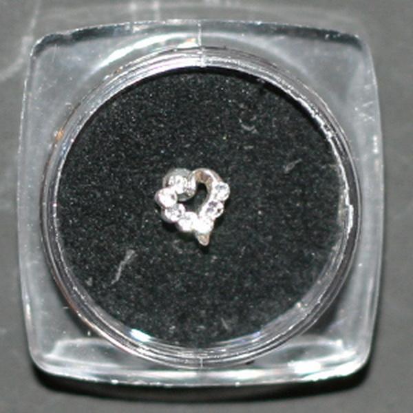Körömékszer 3 (szív)
