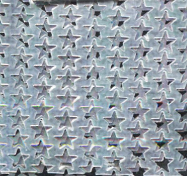 Szivárványos hálóminta ezüst