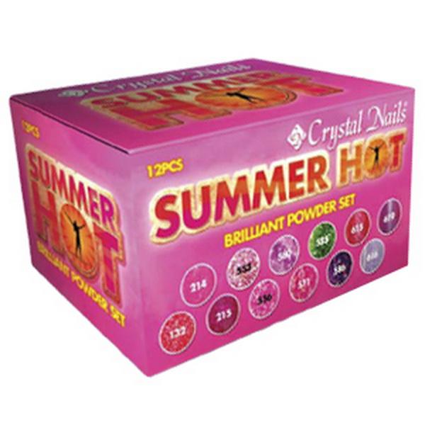Summer Hot Brilliant porcelánkészlet - 12 x 3,5g