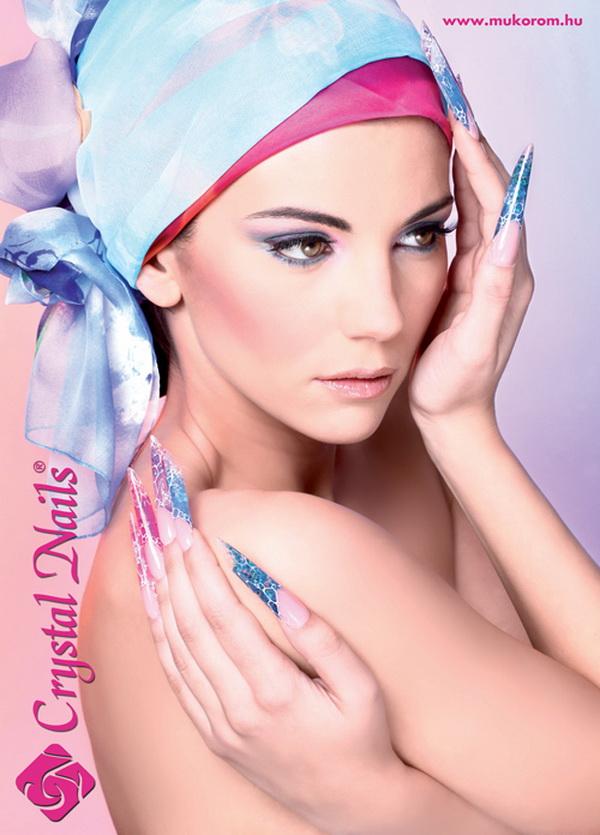 Crystal Nails poszter 3 - 2012 katalógus címlap 50x70cm