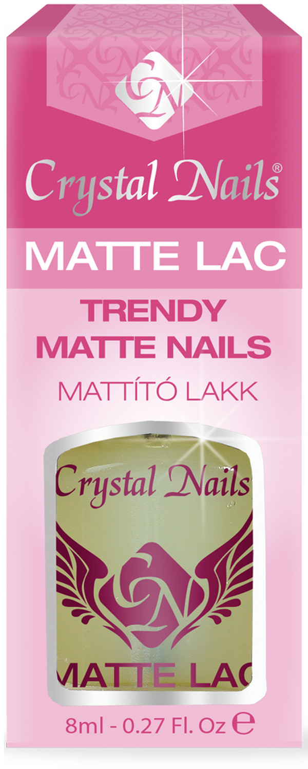 Matt Top Coat - Mattító fedőlakk - 8ml