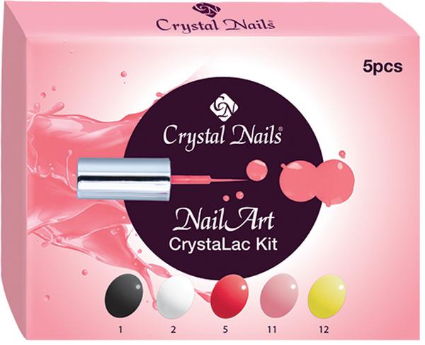 NailArt CrystaLac (Gél Lakk) készlet