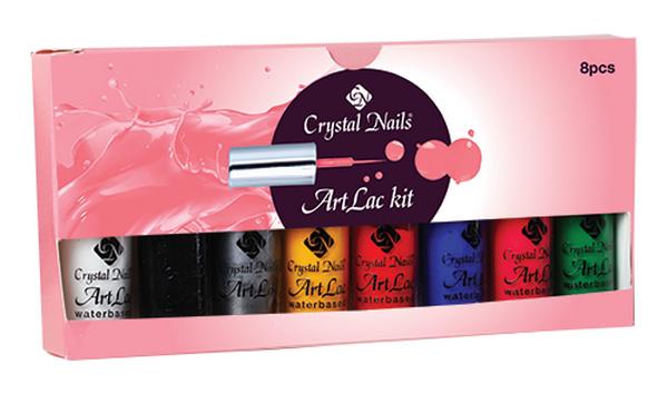 Crystal Nails ArtLac készlet