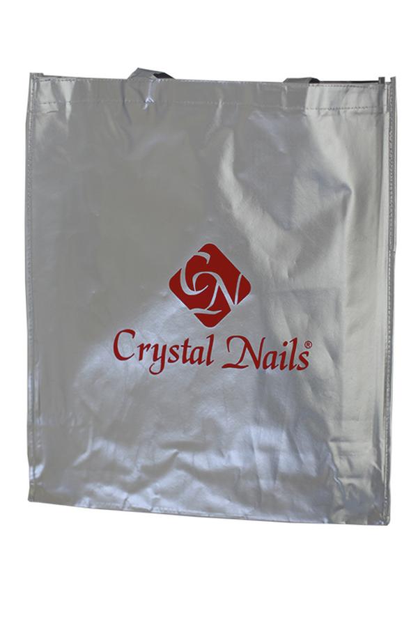 Crystal Nails strandtáska - ezüst