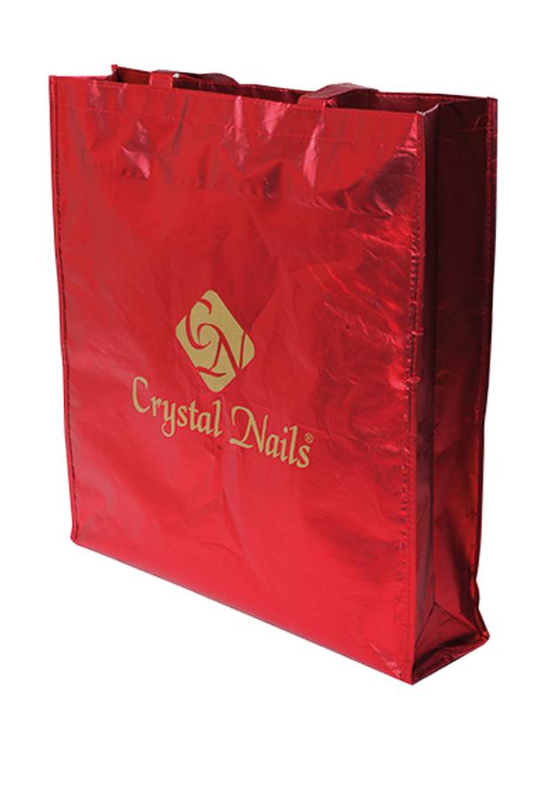 Crystal Nails strandtáska - piros