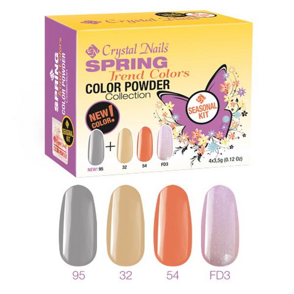 Spring Trend Colors 2014 Színes porcelán készlet - 4x3,5g