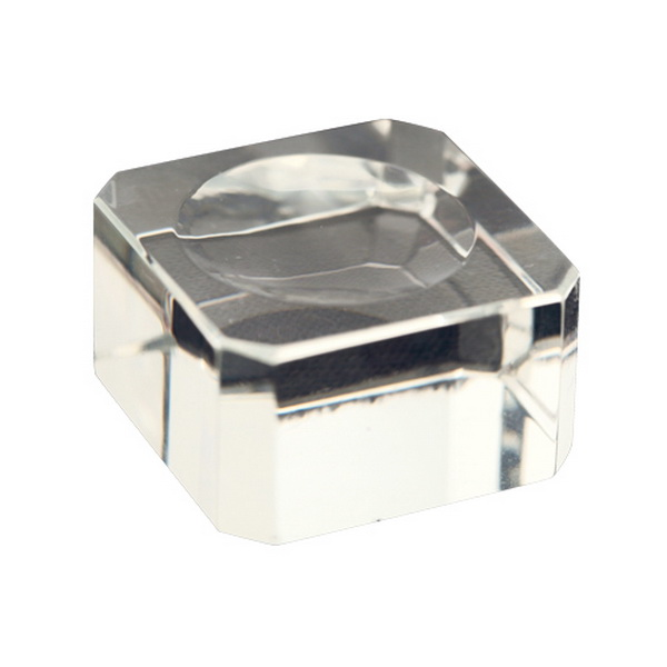 Mini ragasztó tartó tálka, üveg