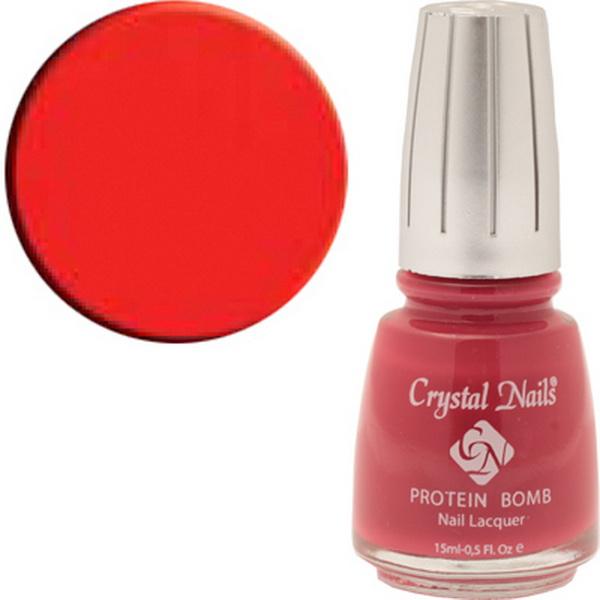 052 Crystal Nails körömlakk 15ml - Red mandarin