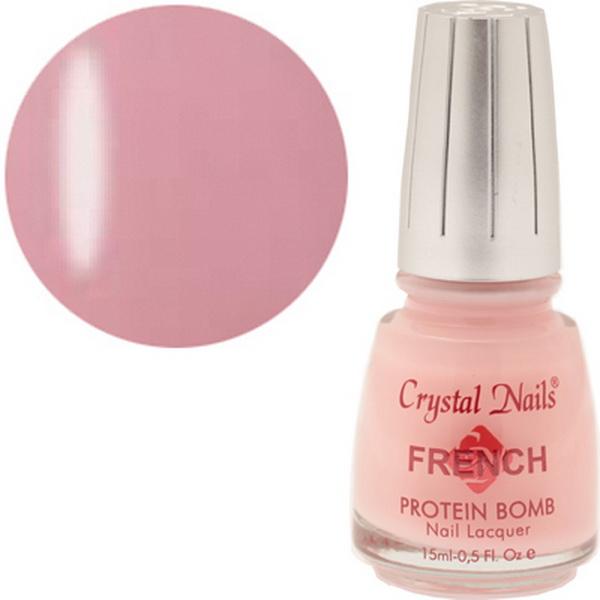 506 Crystal Nails Francia lakk 15ml - Classic Pink