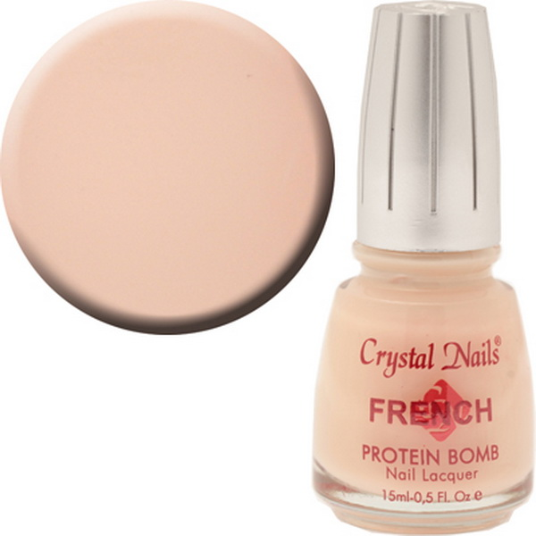502 Crystal Nails Francia lakk - 15ml