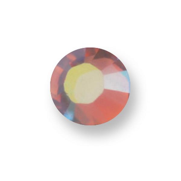 Osztrák Kristály - 223AB Light Rose Aurora Borealis (SS8 - 2,4mm)