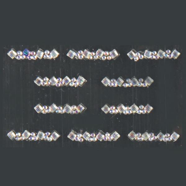 Nail Sticker Strasszkő sordísz - #13