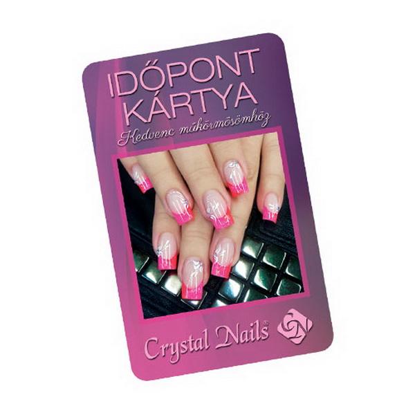 Crystal Nails időpontkártya - #8