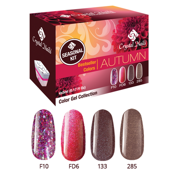 Bestseller Colors Autumn színes zselé készlet