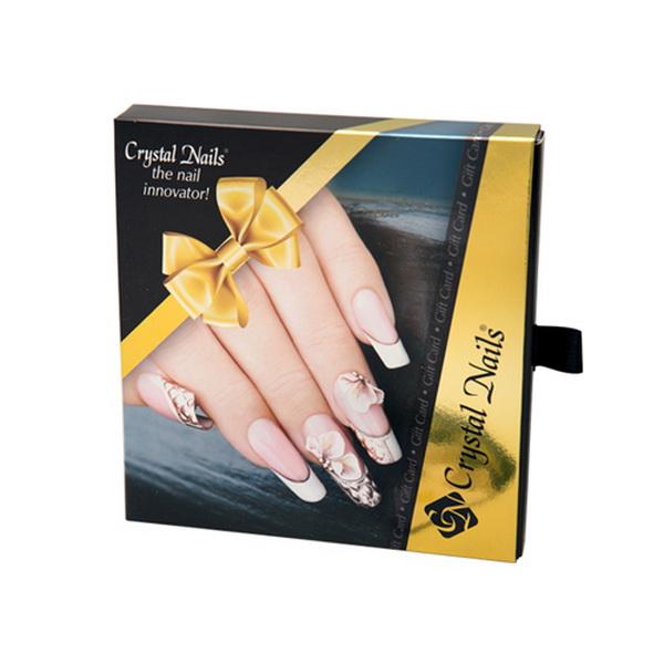 Crystal Nails díszdoboz ajándékkártyához