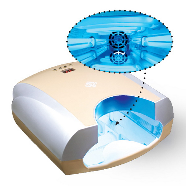 CRYSTAL UV Lámpa M2.2 (4x9W) - Ekrü színben