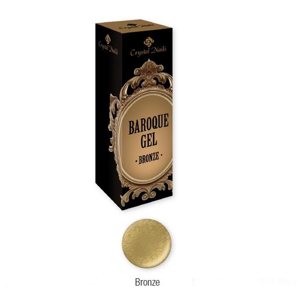 Baroque Gel díszítő zselé - Bronze (5ml)