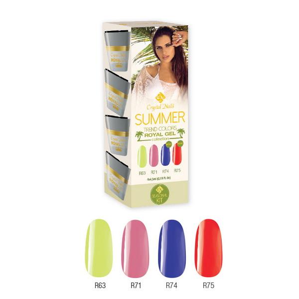 Trend Colors Summer 2015 Royal Gel készlet (4x4,5ml)