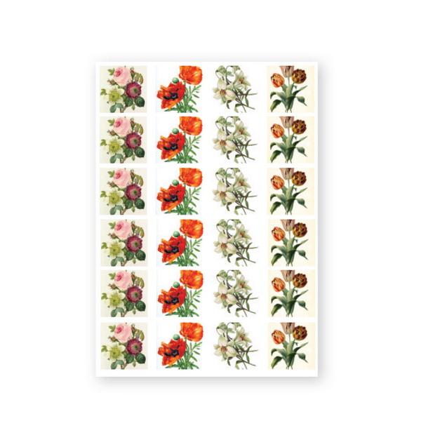 CN Baroque Stickers - Flower