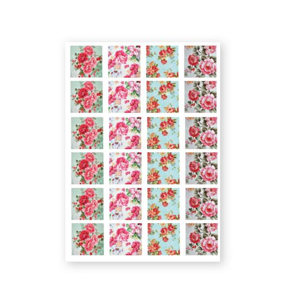 CN Baroque Stickers - Rose