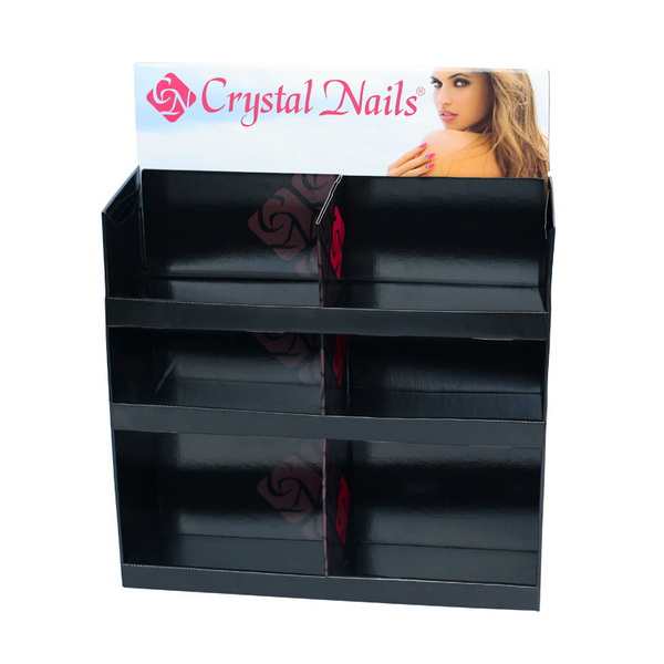 Crystal Nails asztali papír display