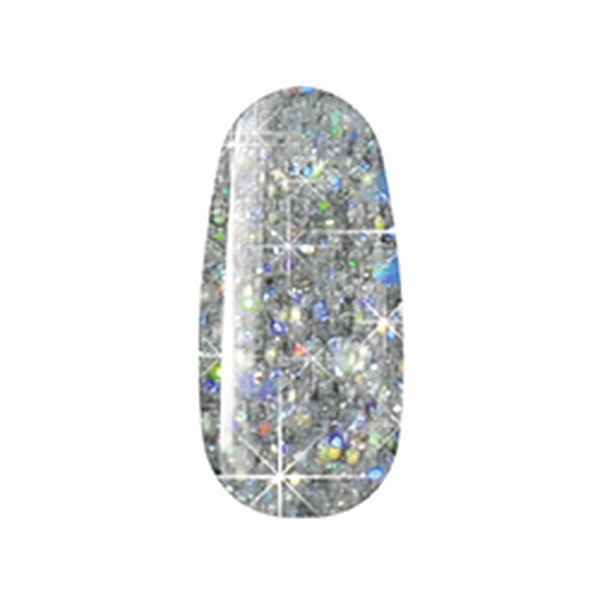 580 Multi Glitter Gel Collection 5ml - Silver