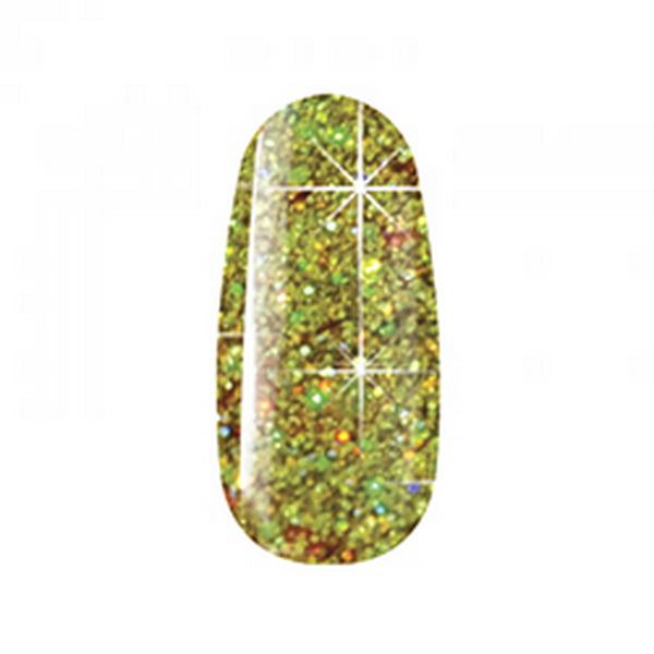 581 Multi Glitter Gel Collection 5ml - Gold