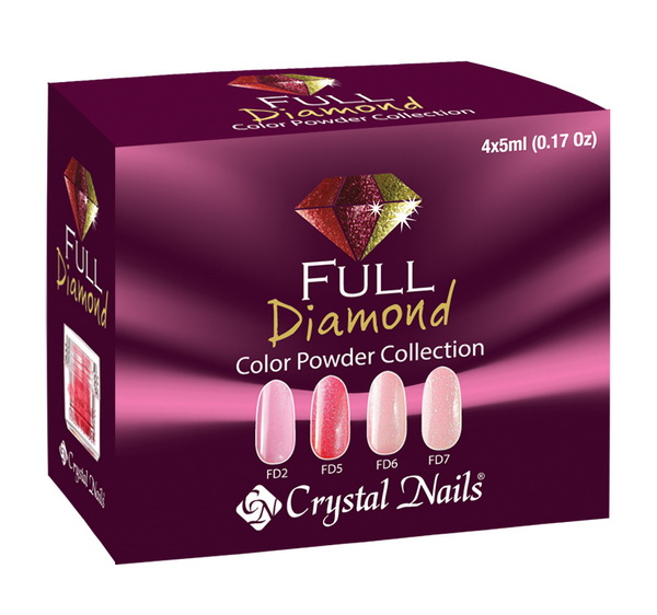 Full Diamond Színes porcelán készlet - 4x5ml