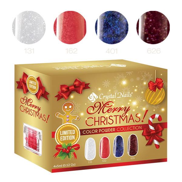2015 Merry Christmas színes porcelán készlet - 4x5ml (3,5g)
