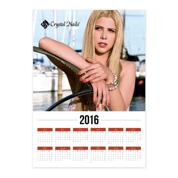 Crystal Nails Poszternaptár 2016 - Vitorlás  (50x70cm)