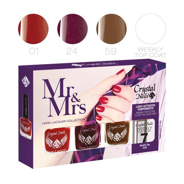 Mr&Mrs körömlakk készlet - 4x8ml