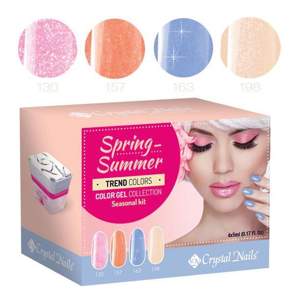 2016 Trend Colors Spring-Summer színes zselé készlet (4x5ml)