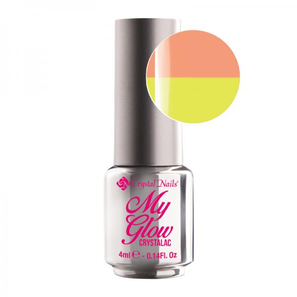 My Glow CrystaLac - Glowy Peach 4ml