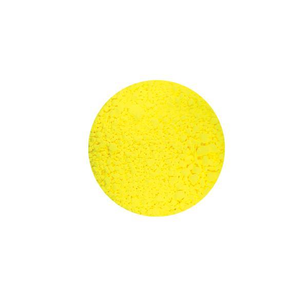 Új! Neon pigmentpor - neon sárga