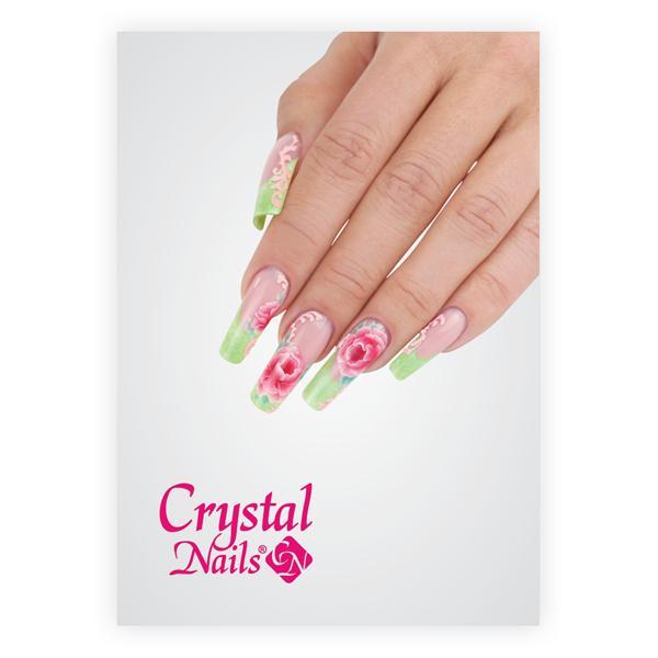 Crystal Nails poszter 40 - 50x70cm