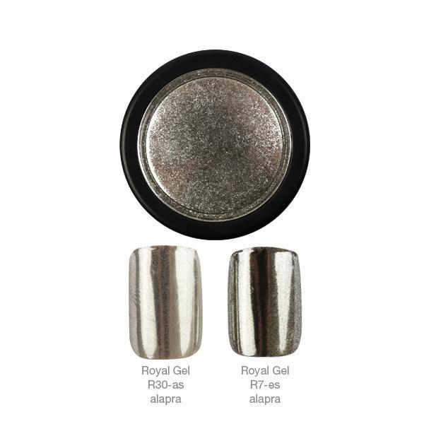 Crystal Nails ChroMirror króm pigmentpor - Silver
