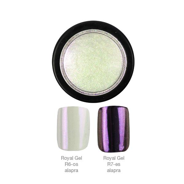 Crystal Nails ChroMirror króm pigmentpor - Chameleon #1