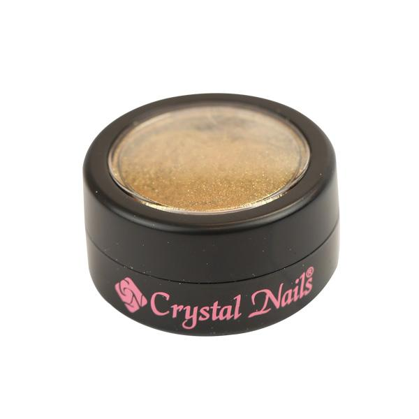 ÚJ! Crystal Nails ChroMirror króm pigmentpor - Gold
