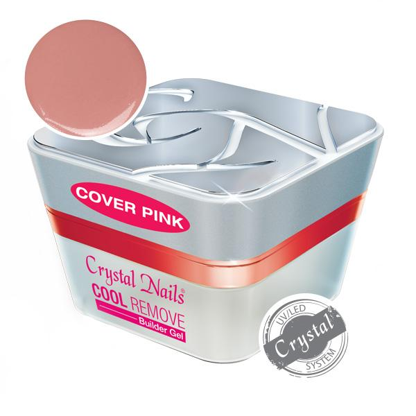 Új! Cool Remove Builder Gel Cover Pink - 50ml