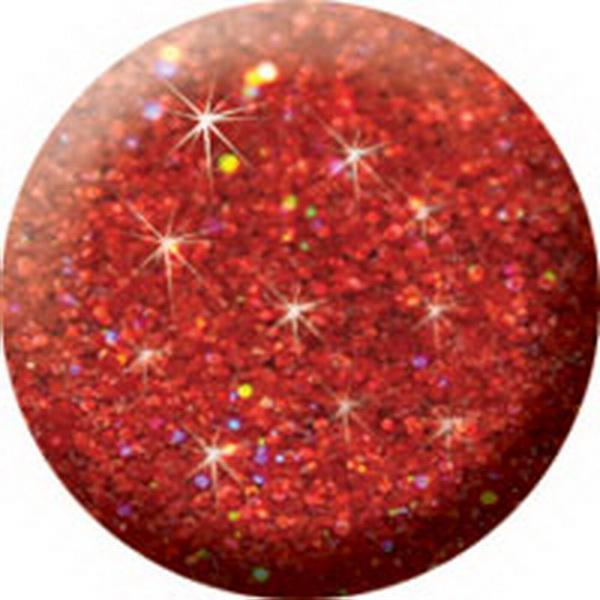 546 CN Színes Brilliant porcelán 7g - Brill irizáló piros