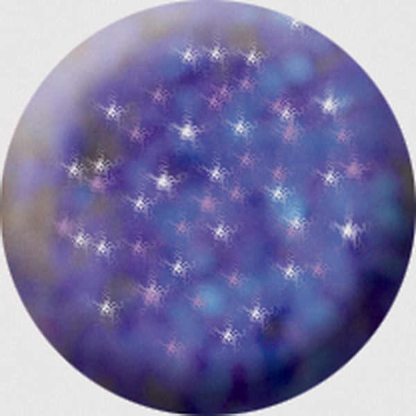 527 CN Színes Brilliant porcelán 7g - Brill irizáló lila
