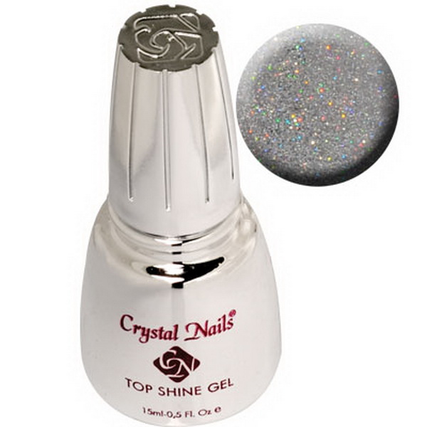 Top Shine zselé (Holo Silver) 15ml