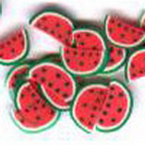 Gumi gyümölcsdísz - féldinnye