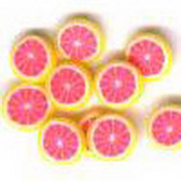 Gumi gyümölcsdísz - grapefruit