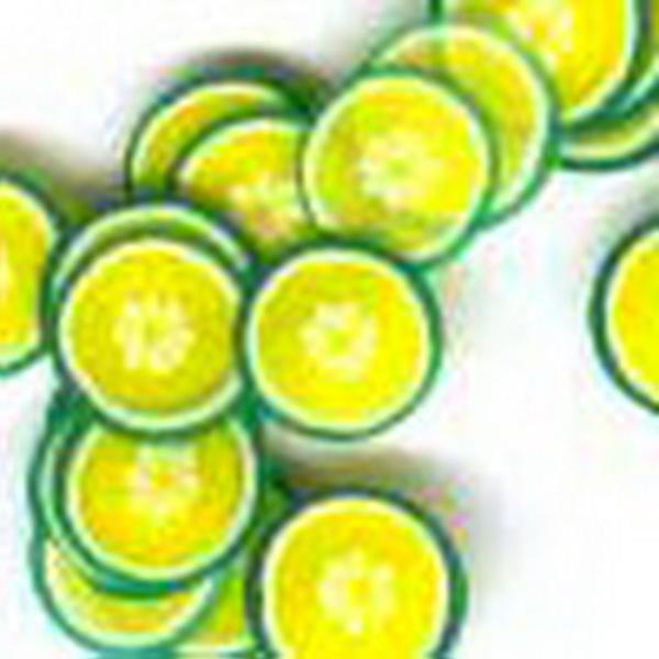 Gumi gyümölcsdísz - lime