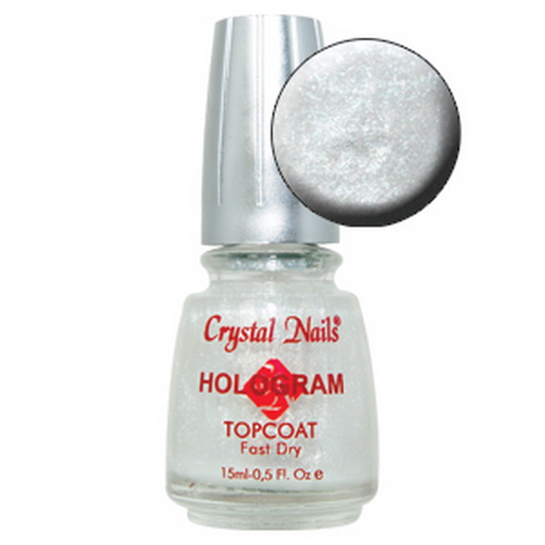 Hologram Topcoat Pearly White 15ml